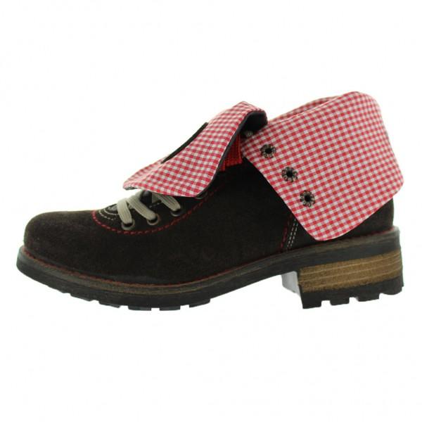 Trachten Stiefel, Stockerpoint, Leinen / Leder